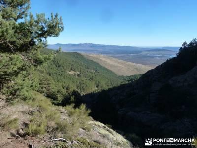 Chorro de San Mamés - Montes Carpetanos - senderismo madrid;zapatillas para senderismo